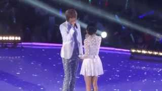 140809 - IU - Friday Ft. Niel (Teen Top) @ M! Countdown KCON 2014