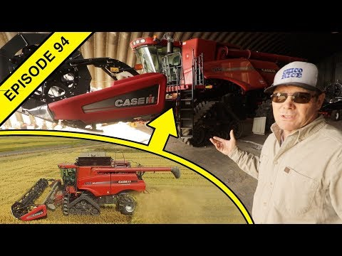 Tom's Equipment Tour: Tractors, Harvest Combines, Implements And A Rice Mill!