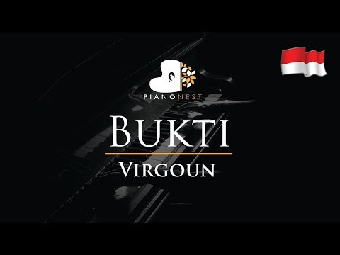 Virgoun - Bukti - Piano Karaoke / Sing Along / Cover with Lyrics