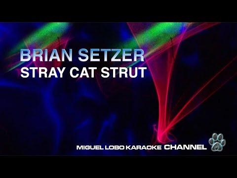 BRIAN SETZER - STRAY CAT STRUT - Karaoke Channel Miguel Lobo