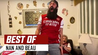 😂 The best of Nan and Beau | Gooners React