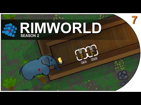 RimWorld - S02E07 - Elephants with the taste for Human Flesh
