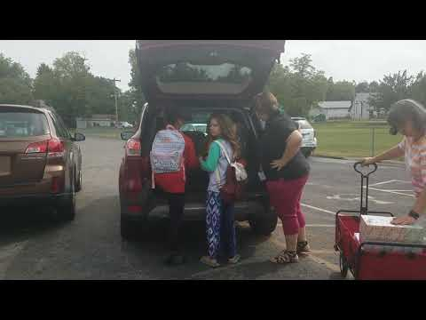 CoreFirst Bank delivers donations to Highland Park Central Elementary