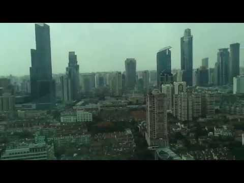 A view of Pudong new area Shanghai (the metropolis)