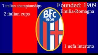 ΥΜΝΟΣ ΜΠΟΛΟΝΙΑ ANTHEM OF BOLOGNA FC INNO BOLOGNA FC