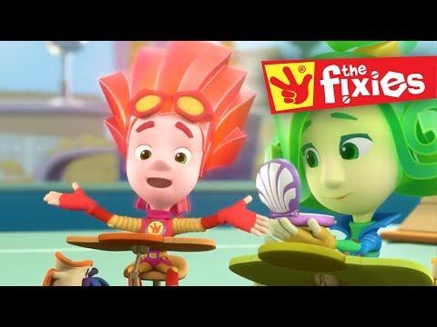 The Fixies English ★ Keyboard & Reflexes Plus More Full Episodes ★ Fixies English | Cartoon For Kids
