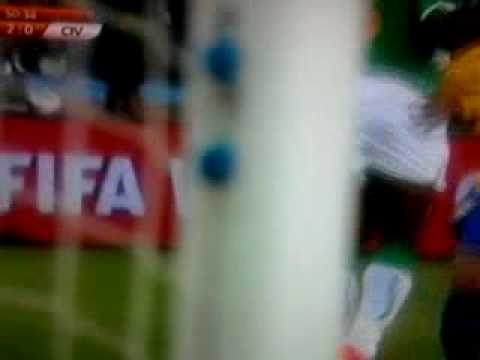Brazil- Ivory Coast  2-0 Luis Fabiano