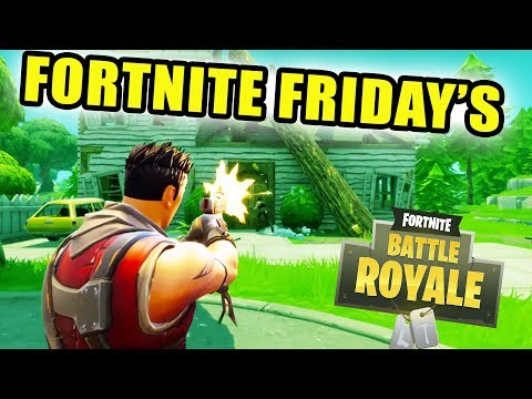 FORTNIGHT FRIDAY | EP. 1 | NEW GAME PLAY | FORTNITE BATTLE ROYALE