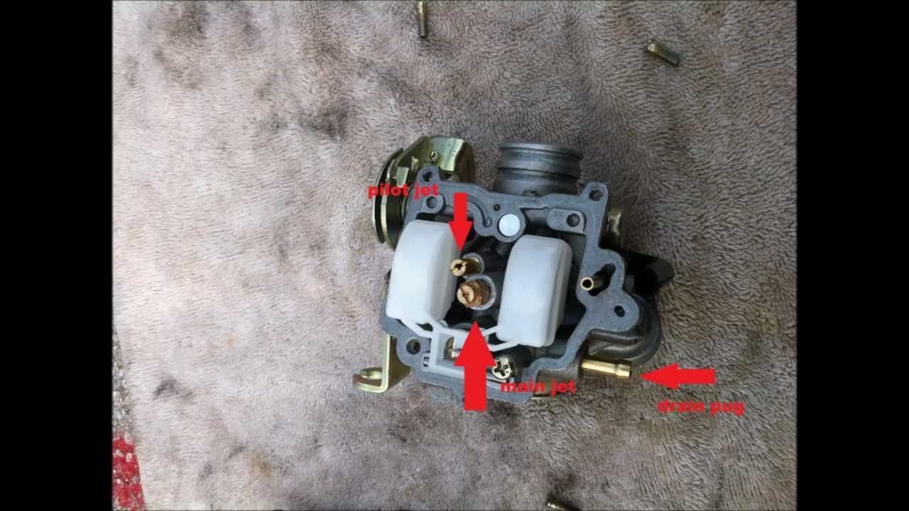 Scooter Carburetor adjustment