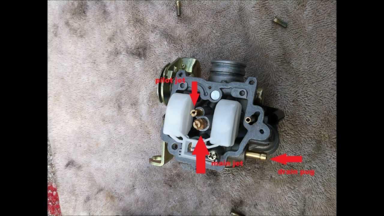 Scooter Carburetor adjustment  YouTube