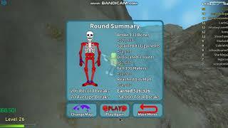 The helium ballon in broken bones IV | Roblox