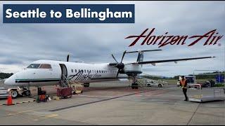 Trip Report | Horizon Air | Bombardier Q400 | Seattle to Bellingham