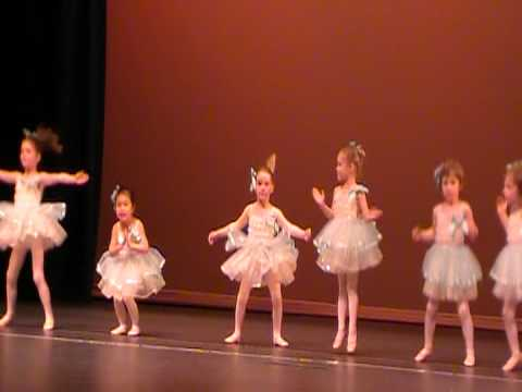 Chloe's First Ballet Recital -- Little Mermaid, Part of Your World