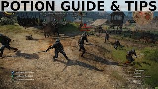 Witcher 3 - Potions Guide and Tips