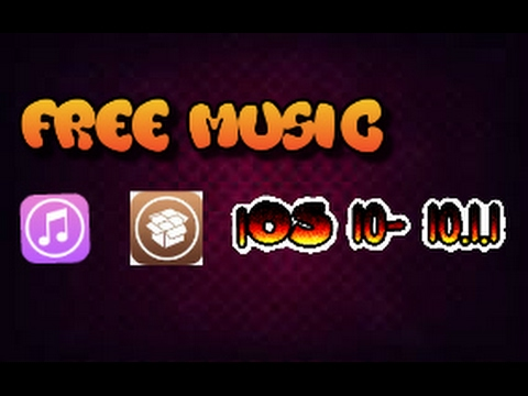 iOS 10 - 10.2 download music for free (Any jailbroken iPhone, iPad and iPod touch)