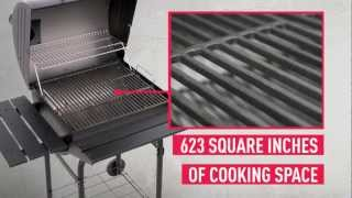 The Char-Broil Barrel Style Charcoal Grill