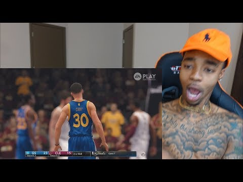 NBA Live 18 5v5 Warriors Vs Cavaliers Finals Gameplay REACTION, THOUGHTS & DISCUSSION!