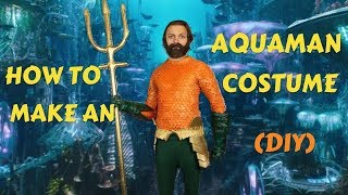 Make Your Own Aquaman Costume! (DIY)