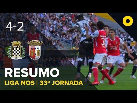 Boavista 4-2 Sp. Braga - Resumo   SPORT TV
