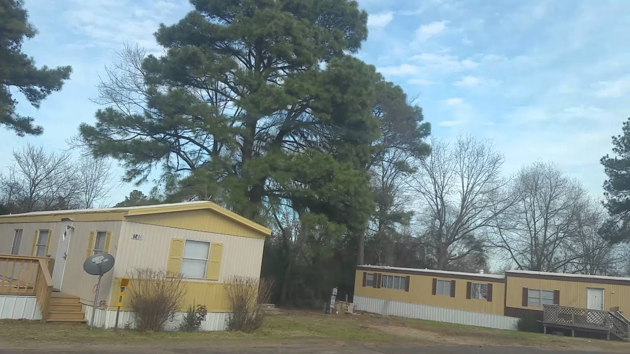 Part 2 Of Texarkana Mobile Home Park 1 26 16