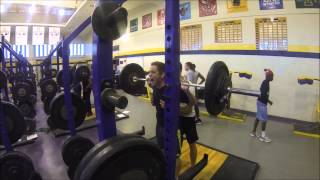UAlbany Track and Field Weight Training