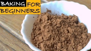 Cocoa Powder - Basic Baking Ingredients