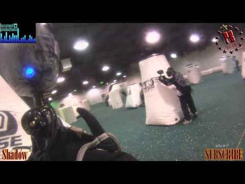 Shooting at the Shadows at All Star Paintball Arena
