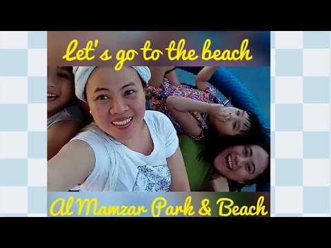 Al Mamzar Park and Beach Dubai UAE