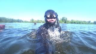 Выезд на нырялку. Обучение подводному плаванию. Отзывы о курсах подводной охоты учеников.