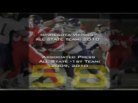 Tommy Olson (#58) 2010 Senior Season Football Stats & Highlights