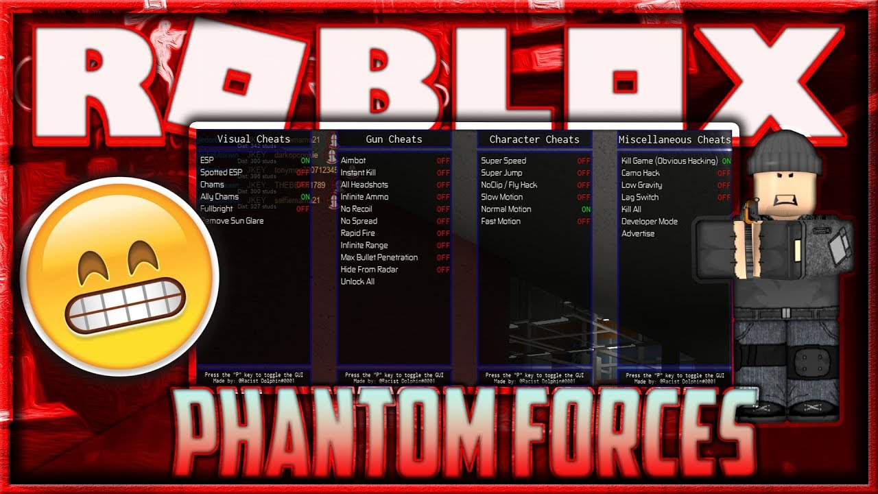 Patched Roblox Hack Script Phantom Forces Unlimited