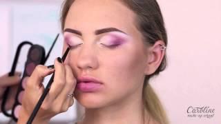 Макияж с помощью аэрографа. Makeup Tutorial. Видео урок #2