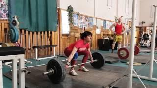 #weightlifting Не слабый-слабый пол. Мастер спорта Украины Наталья Вишницкая.