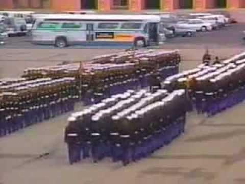 Bravo Company 1073 Series Graduation MCRD Dec 4, 1992