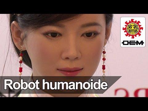La primera periodista robot debutó con una entrevista a expertos en inteligencia artificial