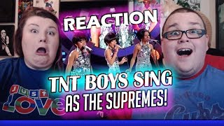 Your Face Sounds Familiar Kids 2018: TNT Boys as The Supremes | Can't Hurry Love REACTION!! 🔥