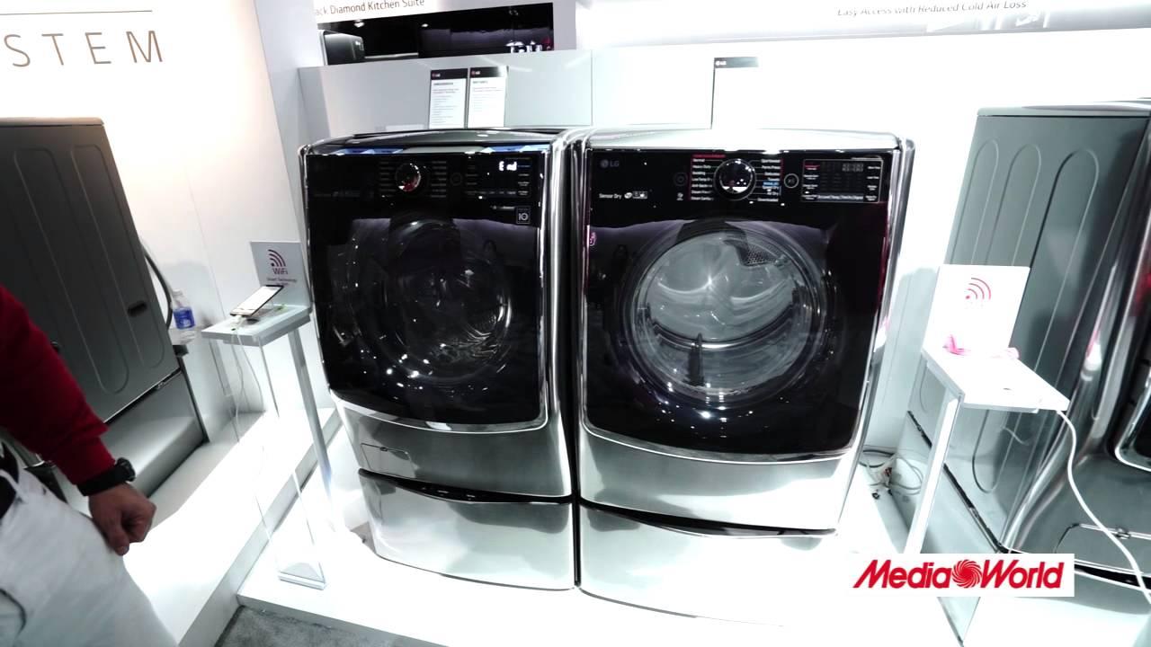 Ces 2015 la lavatrice lg twin wash a doppio cestello for Lavatrice doppio cestello