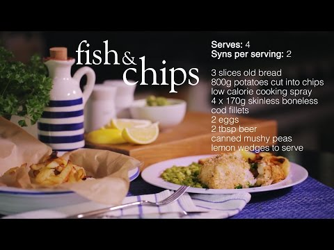 Slimming World Fish And Chips Recipe - 2 Syns