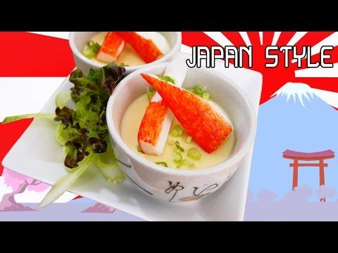 วิธีทำ ไข่ตุ๋นญี่ปุ่น หน้าเนียนๆ อร่อยนุ่มลิ้น ด้วยงบ 20 บาท - How to make japan steamed egg  [HD]