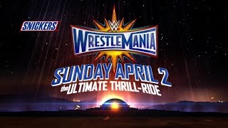 Find out why WrestleMania is The Ultimate Thrill Ride