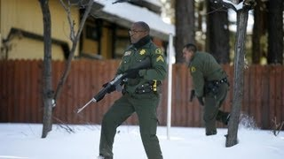 Cops torch cabin where Christopher Dorner was held up