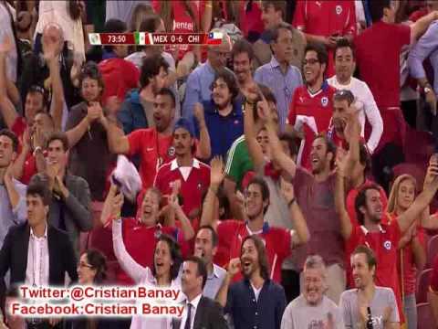 Chile 7 Mexico 0  (ADN Radio Chile ) Copa America Centenario 2016