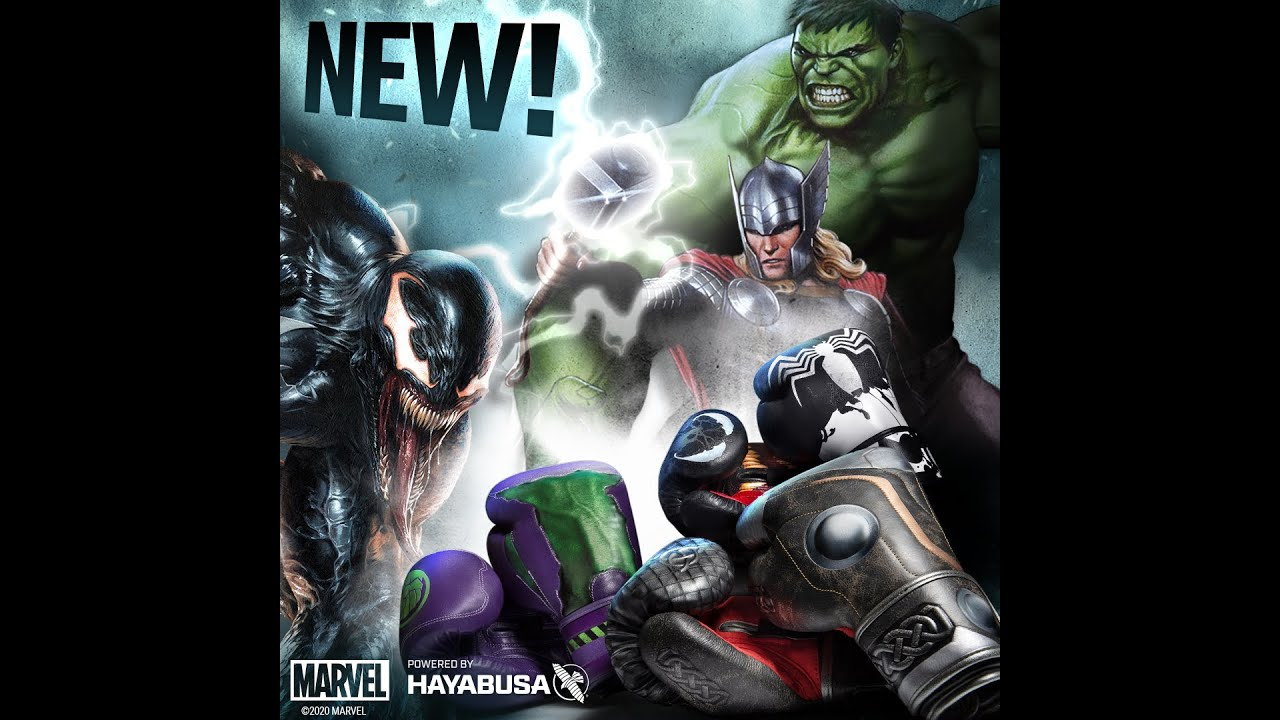 Unleash Your Power | NEW Hayabusa X Marvel Hero Elite Boxing Gloves