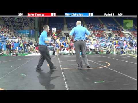 285 Karim Fuentes vs. Mike McCauley