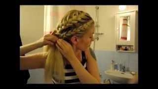 Så fixar du student/fest-frisyren på fem minuter!