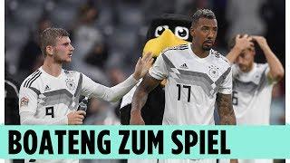 Das sagen der Boss Jérome Boateng und Manuel Neuer zum Spiel   Deutschland - Frankreich