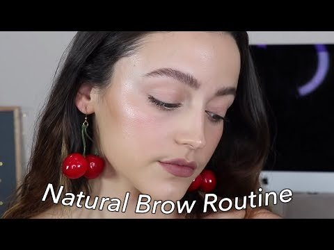 FEATHERY BROWS | Natural + Bold Updated Brow Routine thumbnail