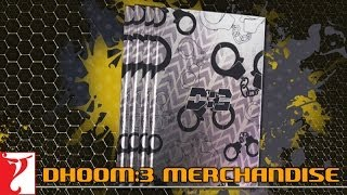 Diaries - DHOOM:3 Merchandise