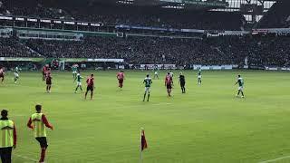 2019-04-13 SV Werder Bremen - SC Freiburg 2:1 - Tor Davy Klaassen