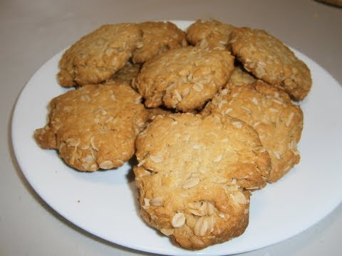 Anzac Biscuits - Video Recipe
